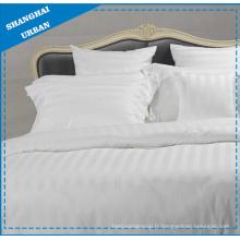 Taie d'oreiller de literie d'hôtel de polyester de coton