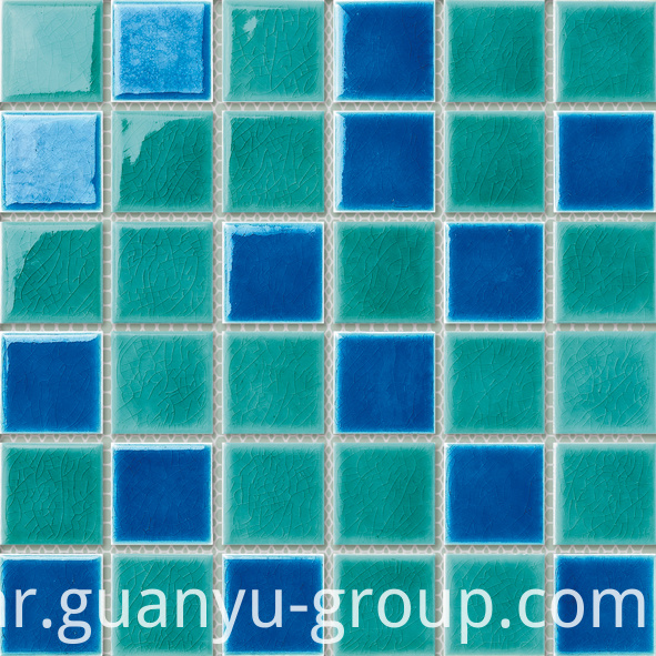 Color Mixed Swimming Pool Mosaic