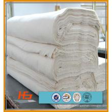Made in china branco poli tecido de algodão 200 thread contagem de venda a granel