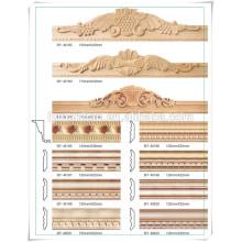 chine fournisseur pin bois cadre de porte moulage / cadre de photo de pin moulage / cadre de lit en bois de pin