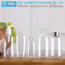 TB-CD Series 60ml 120ml 150ml 250ml innovative and eco-friendly PET plastic wide application oval clear cosmetic bottle
