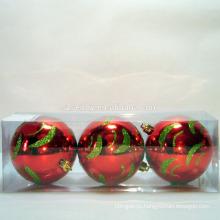 """Идеальный Праздник 2.75"""" Расписанную Небьющиеся Рождественские Мяч Орнамент"""