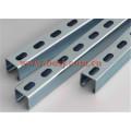 Perforated Steel Strut Channel C Shape & U Shape Roll formando máquina Tailândia
