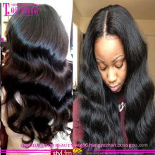 Wholesale Cheap Brazilian Remy Human 200% Density Full Lace Wig For Black Women