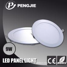 2016 plus récent 9W LED Light Panel avec Ce (rond)