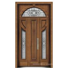 Puerta de acero blindada de Italia puerta del dormitorio proveedor de China (D4022)
