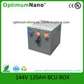 144V 120ah Lithium Ion Electric 1 Ton Logistic Truck Battery Pack