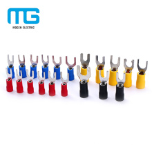 SV Copper PVC Fork Insulated Electrical Wire Crimp Terminals