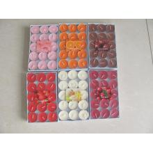 Colorful Scented Soy Tealight Candle