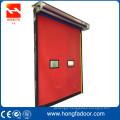 Automatic reset fast track door