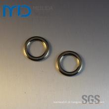 Metal Ronda Anéis e Loops para sapatos Vestuário e Bolsas