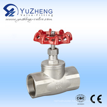 Stainless Steel Thread Globe Valve 200psi