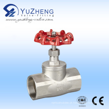 Válvula de Globo de Aço Inoxidável Usada na Indústria
