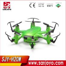 SJY-JJRC H20W Mini Wifi FPV 6 axis Gyro Quadcopter with 2MP HD Camera RC Toy Nano quadcopter vs JJRC H8 X1 Cheerson CX10