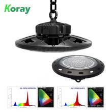 Alibaba Promoção Preço de Fábrica Hidropônico LED UFO Highbay Crescer Luz 100 W 150 W 200 W com Meanwell Motorista