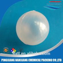 пластмасса PP материал Твердый безграничной плавая шарик&38мм 50мм Пластиковые полый шар