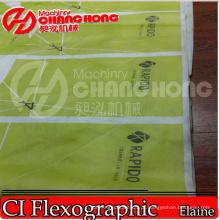 Máquina de impressão de Flexo / papel / poli / HDPE / tecido / saco / satélite não tecido