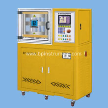 Lab tablet hydraulic press machine/ PLC control