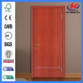 JHK-F01 Engineered Sapele Veneer High Quality 2mm HDF Wood Door  Design