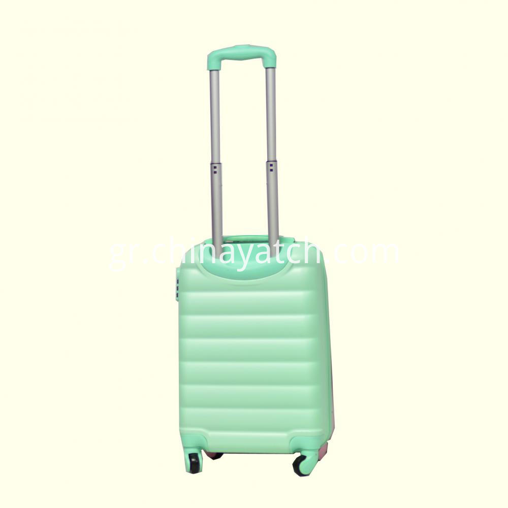 Macarons Contrast Color Suitcase