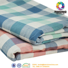 Check Cotton Yarn Dyed Fabric