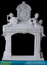 china modern gas fireplace marble