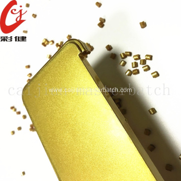 No Painting Gold Masterbtach Granules