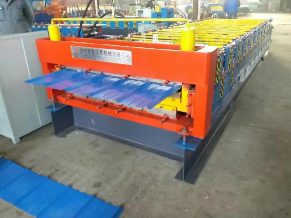 Lapisan Double Excellent Steel Roll Roll Forming Machine