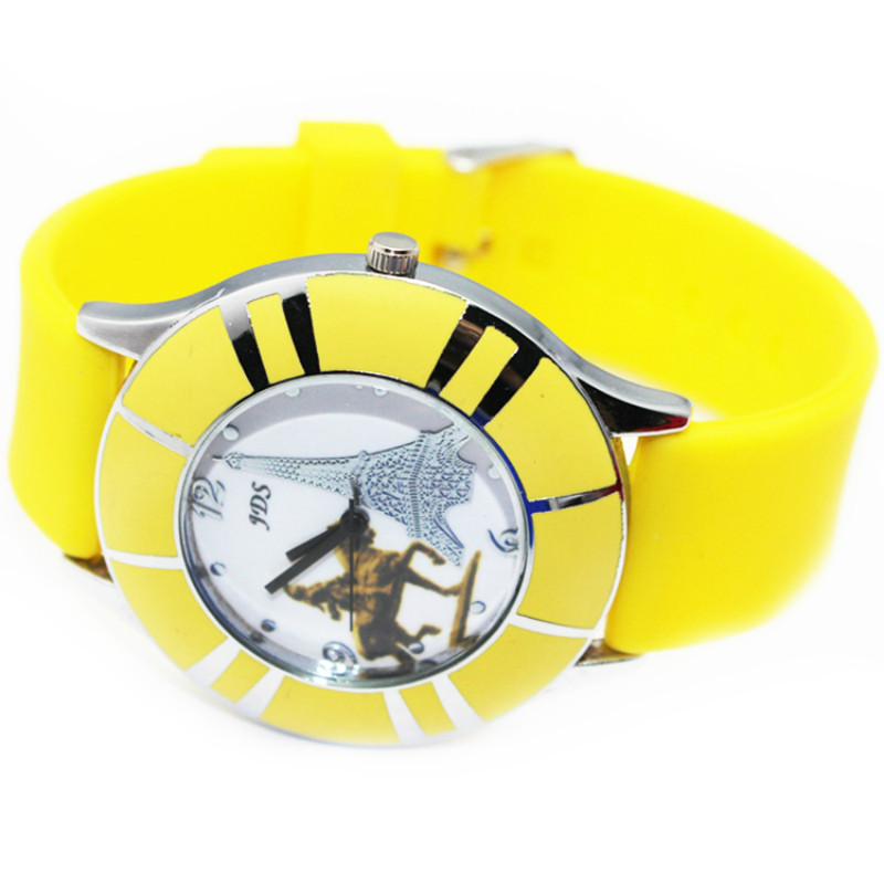 2015 SILICONE QUARTZ WATCH