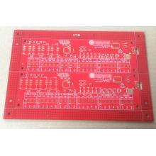 2 layer 1.6mm 1 OZ red solder ENIG PCB