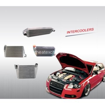 Intercooler automobile personnalisable hautes performances