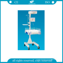 Больничный инкубатор для младенцев со светодиодной фототерапией AG-Irw002A