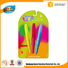 3 cores preço barato hot PP Art Kids Artista Define Art Marker blow pen
