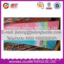 tela de sábana de algodón estampada para el mercado de la India