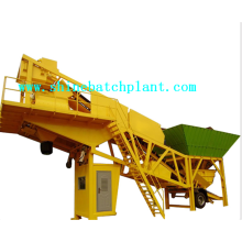 High Performance Mobile Concrete Batching Plant