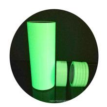 Wholesale Custom Flex HTV glow in the dark heat transfer vinyl film print on fabric garments