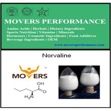 Высококачественные аминокислоты Norvaline с CAS №: 6600-40-4