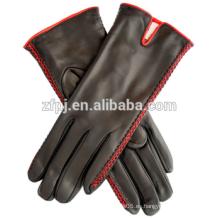 Vida diaria Chicas guantes de cuero cálido