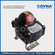 Válvula de esfera com atuador pneumático 316 304 cf8m cf8 com posicionador de pressostato