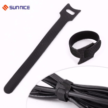Black Reusable Strap Cable Cord Wire Ties