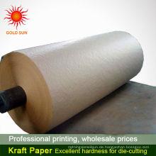 heißer Verkauf waschbar Kraftpapier braun Kraftpapier