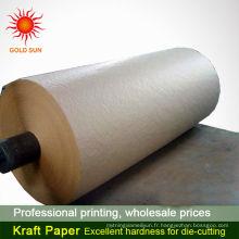 papier kraft lavable vente chaude papier kraft brun