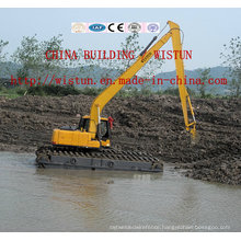 Water Dredging Excavator, Amphibious Excavator, Floating Excavator, Wetland Excavator