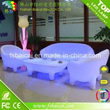Muebles ligeros de la venta caliente LED / muebles comerciales / muebles al aire libre del LED