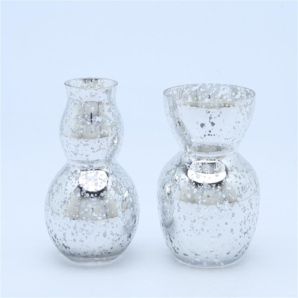 Br 51904glitter Glass Vases For Flowers