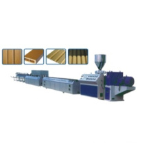 WPC Greenerwood (wood grain PVC WPC) Profile Extrusion Line (SJ65/28)