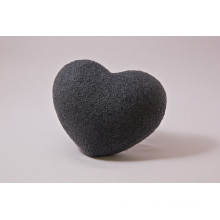 Heart Shape Facial Sponge Bamboo Charcoal Japan Konjac Sponge