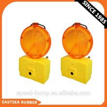 Luz de barricada de advertencia de seguridad de tráfico amarilla o roja de 6 LED intermitente