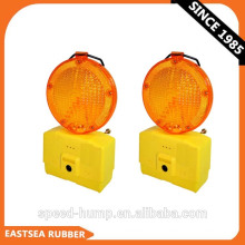 Yellow or Red 6 LED Flashing Traffic Safety Warning Barricade Light