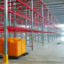 Heavy Duty Metal Galvanized Pallet Shelving for Outdoor Use